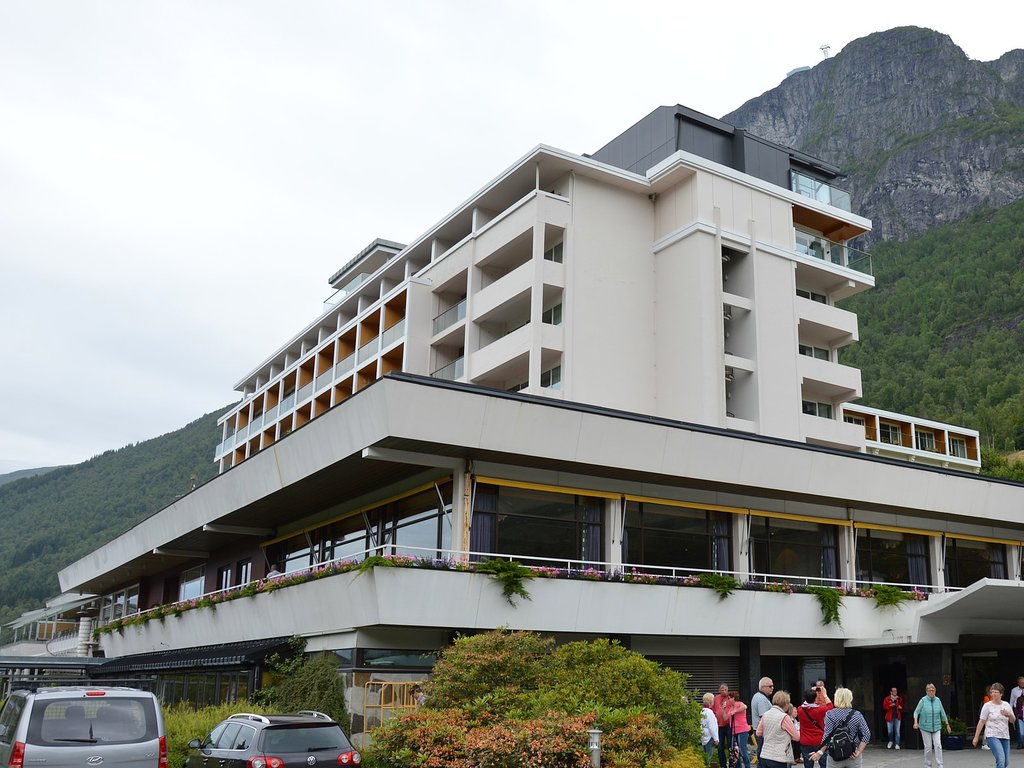 Foto av Hotel Alexandra i Loen.