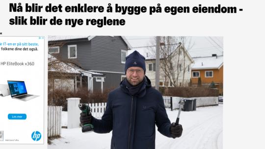 Kommunal- og moderniseringsminister, Nikolai Astrup (H).Skjermdump fra Nettavisen.