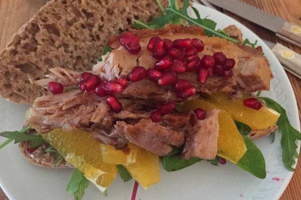 Festmat av julens restemat