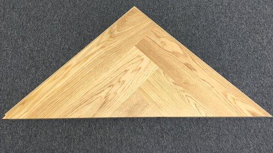 Med en start-trekant får du en god start på leggingen av ditt gulv.