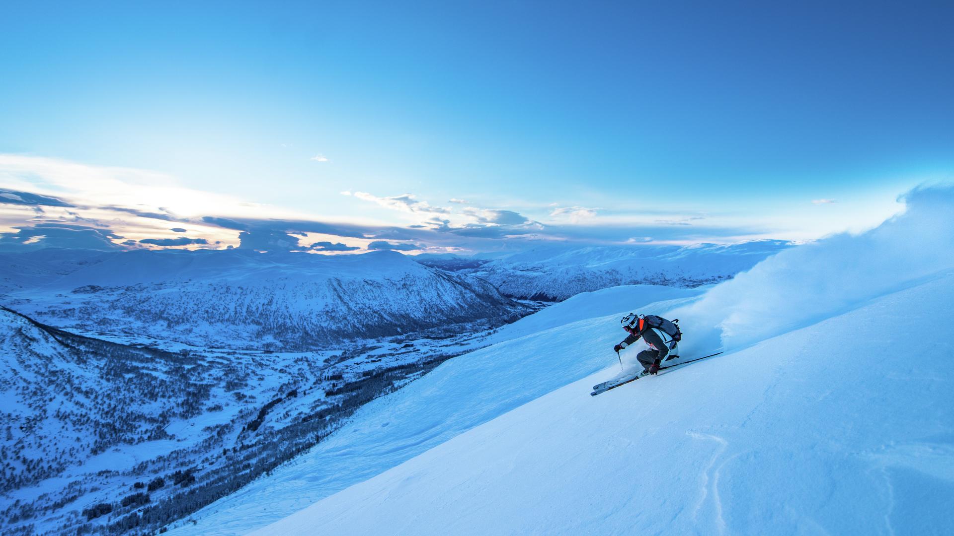 Ski Resort In Voss Norway Myrkdalen