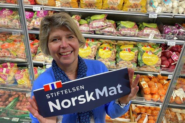 Skifter til Stiftelsen Norsk Mat