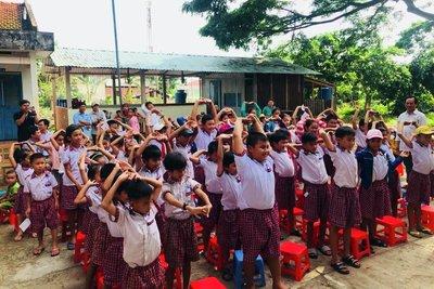 School children in Vietnam