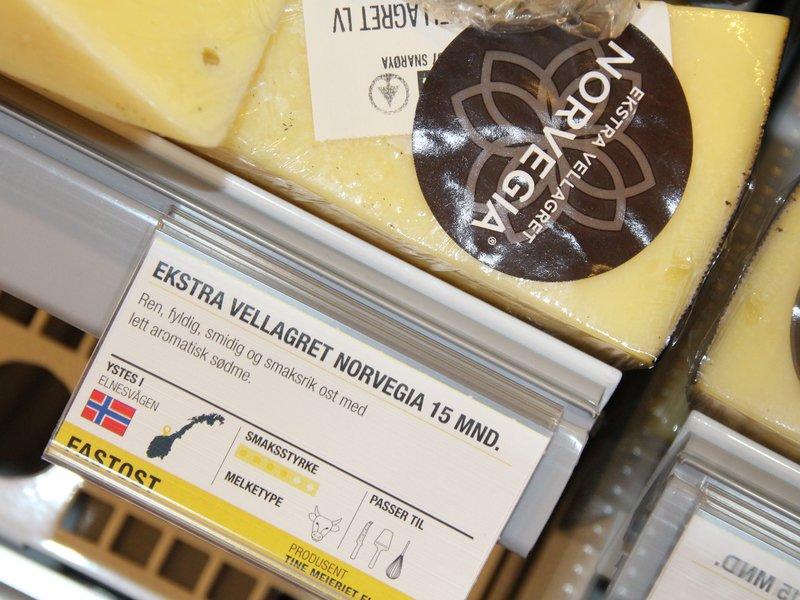 Nå blir det enkelt å finne gode oster i ostedisken