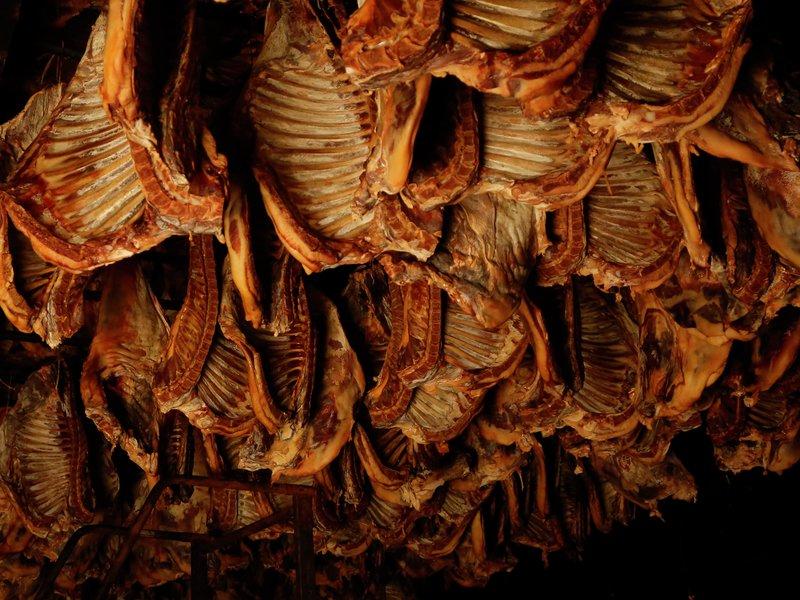 Pinnekjøtt er lagringskjøtt. Foto: Eivor Eriksen/Matmerk
